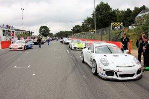 Startgrid Superprix Belcar race