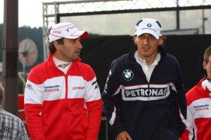 Glock en Kubica in een vorig leven