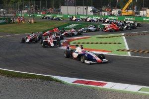 Start GP3 race 2 te Monza