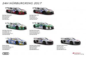 Audi - 24H Nürburgring '17