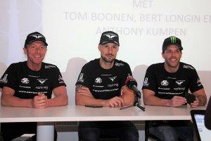 Bert Longin, Tom Boonen & Anthony Kumpen