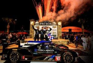 Ricky Taylor, Jordan Taylor en Alex Lynn - Wayne Taylor Racing