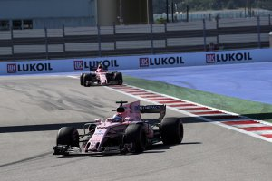 Sergio Perez & Esteban Ocon - Force India
