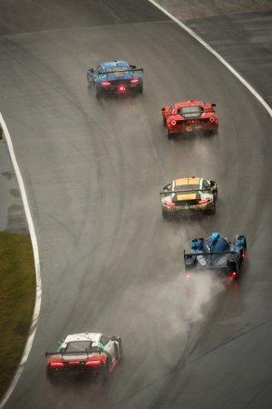 Carlos de Quesada, Daniel Morad, Jesse Lazare, Michael de Quesada en Michael Christensen - Alegra Motorsports