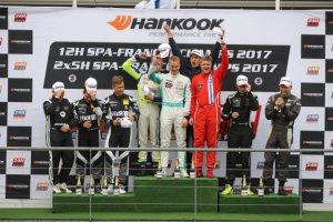 Algemeen podium Hankook 12H Spa-Francorchamps