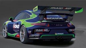 Didier Van Dalen - Porsche 991 GT3 Cup