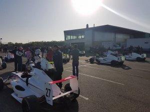 pregrid race 1 Nogaro