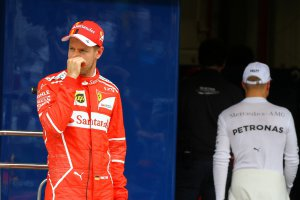 Sebastian Vettel & Valtteri Bottas