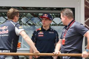 Max en Jos Verstappen