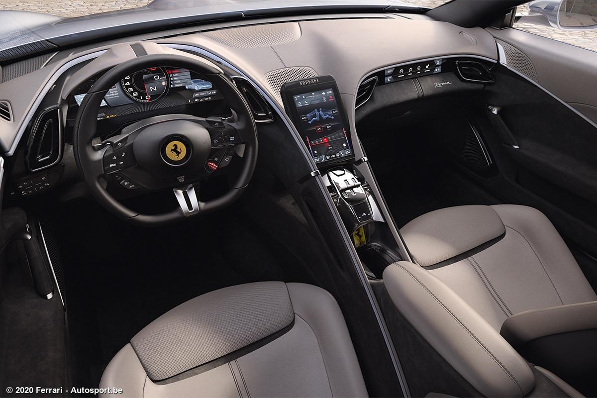 Het Nieuwe Classicisme Van Ferrari De Roma Autosport Be