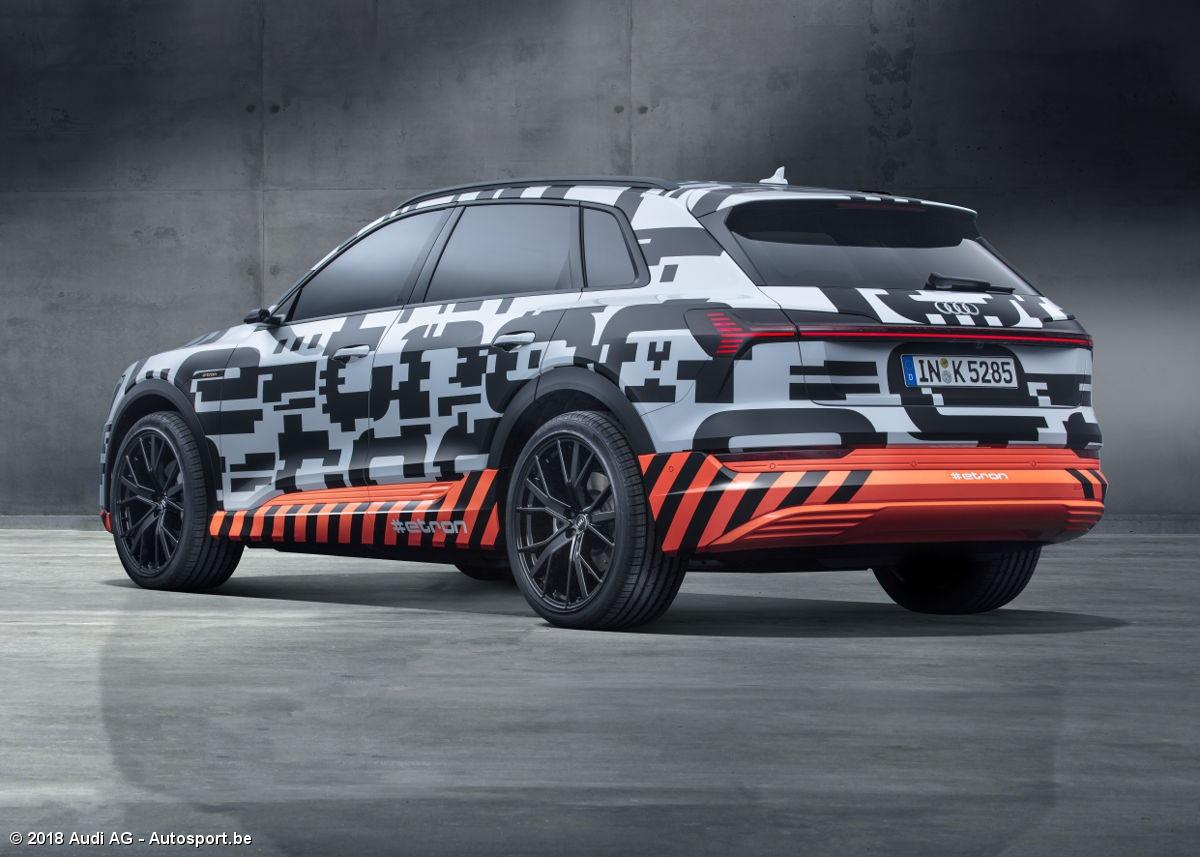 Audi Geeft Een Vooruitblik Op Zijn Eerste Vol Elektrische Auto