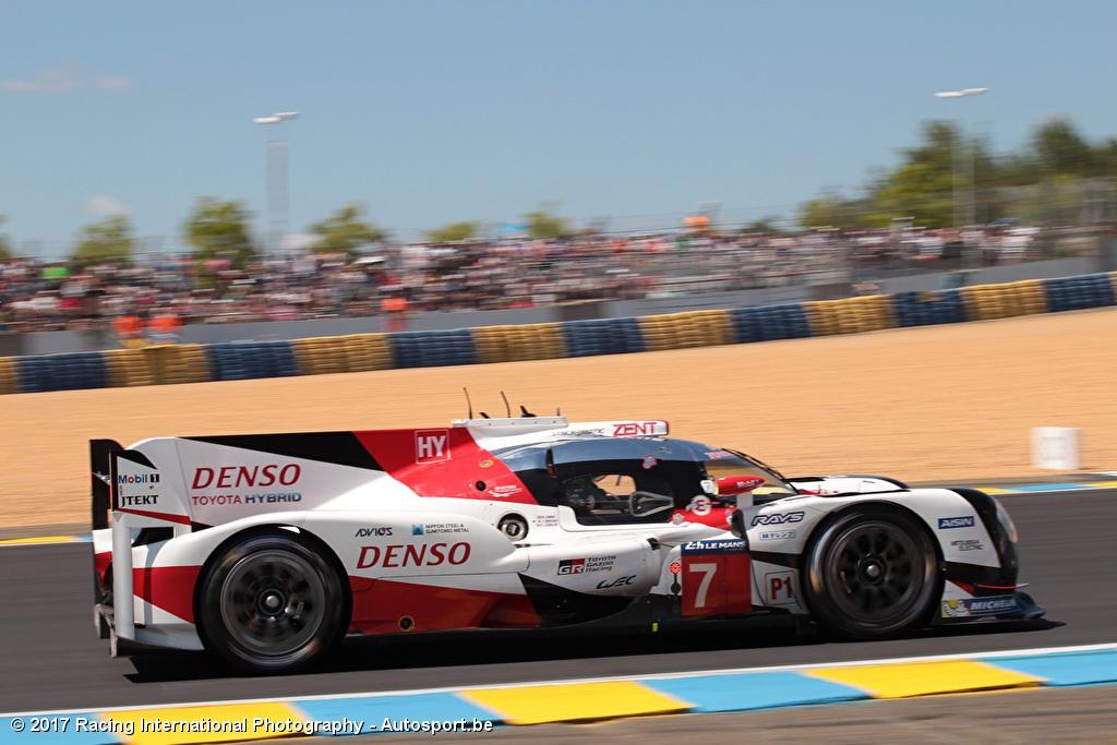 24h Le Mans Na 3h Toyota Kan Porsche Niet Afschudden Vanthoor