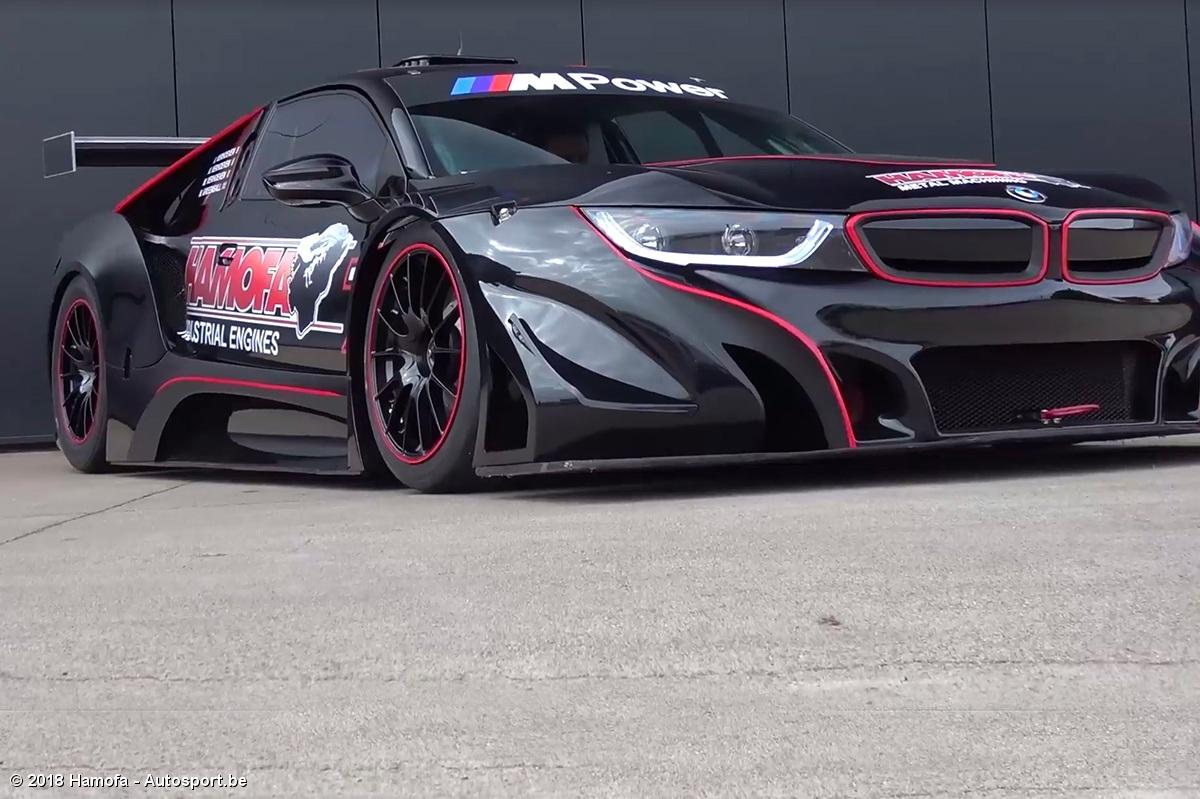 Video Hamofa Motorsport Met Bmw I8 Met V8 Motor Autosport Be