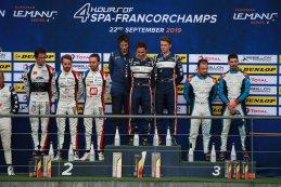Algemeen podium 2019 ELMS 4 Hours of Spa