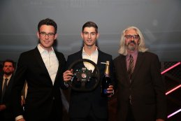 RACB Awards - Thierry Neuville - Winner Tom Rensonnet