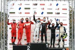Podium 2020 Belcar DTM Zolder II race 2 Belcar 1