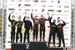 Podium 2020 Belcar DTM Zolder II race 2 Belcar 3