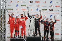 Podium 2020 Belcar DTM Zolder II race 2