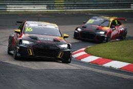 Gilles Magnus en Frédéric Vervisch - Comtoyou Racing Audi RS3 LMS