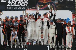 Podium 2021 Belcar 24 Hours of Zolder GTA
