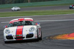 24H Spa: De vrije training van BRCC en European GT4 in beeld gebracht