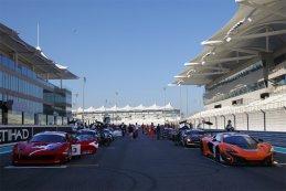 Start race 2 Gulf 12 Hours 2014