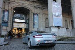 Ingang Tentoonstelling Autoworld Brussels:100 Jaar Aston Martin