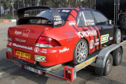 Chris van Woensel - Mitsubishi Lancer WRC05