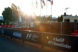 zonsondergang Down Under GP Australië 2015
