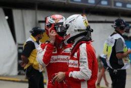Kimi Raïkkönen & Sebastian Vettel