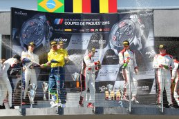 podium BSS Qualifying Race Nogaro 2015