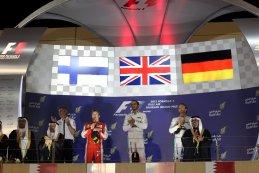 podium GP Bahrein 2015
