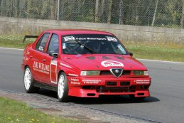 Ron Sanen / Mike vd Berg - Alfa Romeo 155 turbo