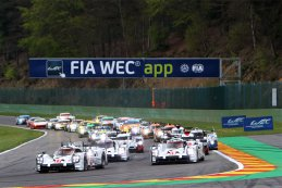 Start FIA WEC 6 Hours of Spa 2015