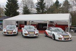 Belgium Racing - Porsche GT3 Cup 991 & Porsche GT3 Cup 997 (rechts)