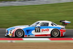 #71 GT Russian Team Mercedes SLS AMG GT3