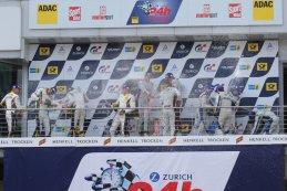 Podium 24H Nürburgring 2015