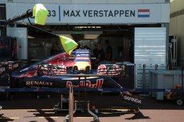Pitbox Max Verstappen