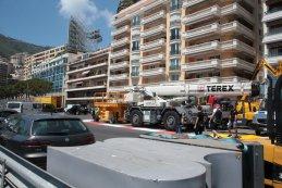Opbouw F1 GP Monaco 2015