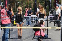 Gridgirls hoofdrace Zolder 2015