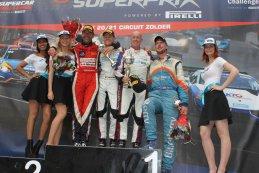 Podium 2015 SCC Syntix Superprix Super GT race 2