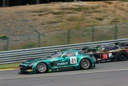 #21 Black Falcon Mercedes SLS AMG GT3
