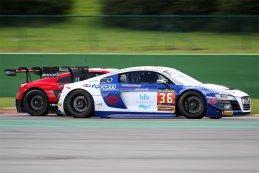 Sainteloc - Audi R8 LMS ultra vs. Audi Sport Team WRT - Audi R8 LMS