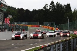 alle Audi R8 LMS GT3 na finish 2015 BES 24 Hours of Spa