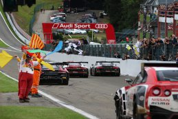 alle Audi R8 LMS na finish 2015 BES 24 Hours of Spa