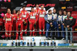 podium Pro-AM Cup 2015 BES 24 Hours of Spa
