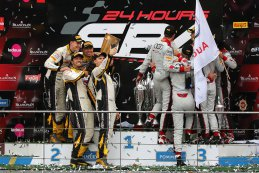 podium Pro-klasse 2015 BES 24 Hours of Spa