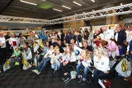 team VDS tijdens de 24 u  van Frnacorchamps