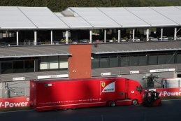 vrachtwagen Scuderia Ferrari - F1 GP België 2015