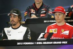 Fernando Alonso - Kimi Räikkönen
